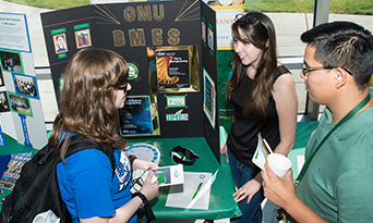 Mason's student chapter of the Biomedical Engineering Society helps bioengineering students develop leadership skills, network with other students, and discover a wide range of career development opportunities.